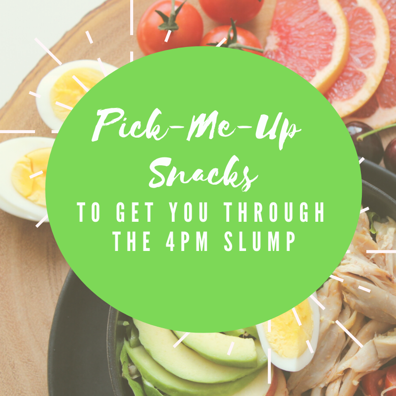Pick-Me-Up Snacks to Get You Through the 4pm Slump